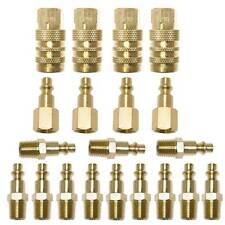 "(20) 1/4"" NPT Brass Coupler Quick Connect Set Air Compressor Hose CH440B-KIT2"