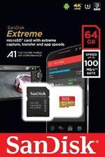 SanDisk 64GB microSDXC Extreme 100MB/s A1 4K U3 V30 SD microSD memory card #19