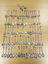Job Lot Of 81 Silver Plated Souvenir Spoons