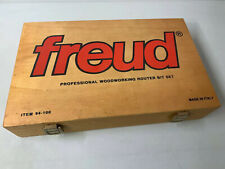 Freud Professional Woodworking Router Bit Set Item # 94 - 100 Made in Italy