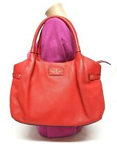 KATE SPADE BERSHIRE ROAD STEVIE PINK LEATHER SATCHEL  SHOULDER HANDBAG