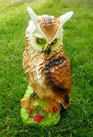 Eule Uhu ca. 29 cm Figur Dekoration Deko Garten Terasse