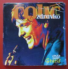 Zdravko Colic DVD 2007-2010 Live Zdravko Čolić Serbia Ljubav Je Samo Rec