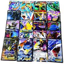 60 Pcs/Lot Pokemon EX Card All MEGA Holo Flash Trading Cards Charizard Kid Gift