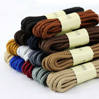Woven Shoelaces Unisex Sport Shoe Laces Strings Leisure Cord Round Rope Bootlace