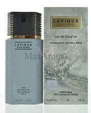 Lapidus by Ted Lapidus Pour Homme Eau De Toilette 3.3 OZ  for Men NEW