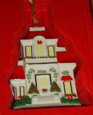 Lenox 2006 Annual Victorian House Christmas Ornament w/Box
