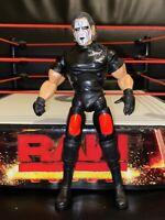 TNA STING JAKKS DELUXE IMPACT WRESTLING FIGURE CROSS THE LINE SERIES 4 WWE