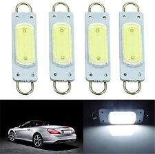 4 x White 44mm 3W COB Rigid Loop LED Interior Door Map Light Bulbs 561 562