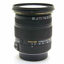 Sigma 17-50mm F2.8 Ex Dc HSM Obiettivo per Pentax Aps Only 928629 Giappone Usato