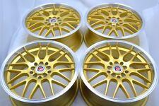 17 gold Wheels Rims Accord Corolla Celica Prius Matrix Civic Camry 5x100 5x114.3
