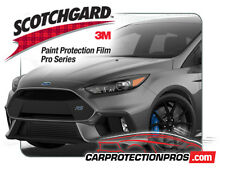 2018 Ford Focus RS 3M Scotchgard PRO Paint Protection Film Clear Bra Bumper Kit