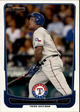 2012 Bowman Baseball #95 Adrian Beltre Texas Rangers