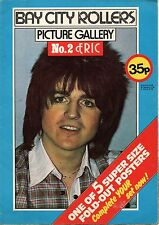Bay City Rollers Picture Gallery Poster Magazine 1976 No.2 Eric