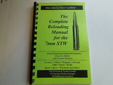 7mm STW  The Complete Reloading Manual Load Books Latest Version