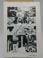 Batman Original Comic Book Art LOTDK (Testament Part 4) Page 4 Chris Brunner