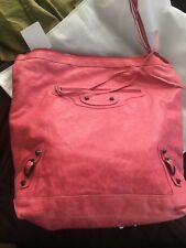 Authentic Balenciaga Day bag, 2011 Grenadine pink