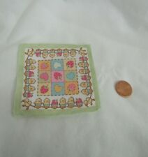 New FISHER PRICE Loving Family Dollhouse BLANKET BABY Picnic Camp Hearts Berries