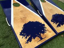 Personalized Triangle Cornhole Board Set