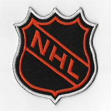 NHL National Hockey League Iron on Patches Embroidered Patch Applique Orange Sew