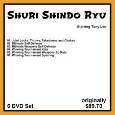 Tony Leo's Shuri Shindo Ryu Series (6 DVD Set)