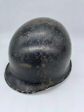 More details for original early world war two american m1 helmet, front seam fixed bale
