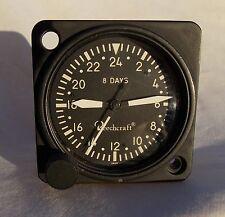 Cold War USAF USN USMC 8 Day 24 Hour Aircraft Clock Type A-11-24, Overhauled