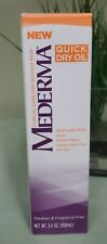 Mederma Quick Dry Oil 3.4 Oz/100 mL For Scars, Stretch Marks & Uneven Skin Tone