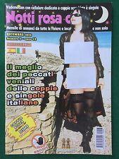 NOTTI ROSA CLUB n.3 + POSTER (ITA 2012) Rivista erotica Magazine annunci Foto