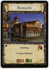 Barracks (4) - Age Of Empires ECG CCG Card (C96)