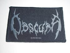 OBSCURA DEATH METAL WOVEN PATCH