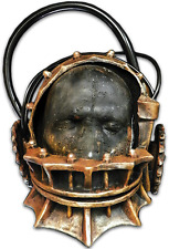 Halloween Saw Reverse Bear Torture Devise Trap Latex Deluxe Mask Haunted House