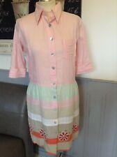 MANISH MALHOTRA DRESS INDIAN COTTON SUMMER DRESS SIZE 38 UK 14