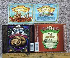 Lot Of 4 Beer Label Celebration Ale 1982 Pacific Hop Exchange Hibernator Winter