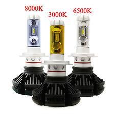 Pair ZES H7 50W 12000LM LED Car Headlights Kits Beam Bulbs Turbo 6500K  High/Low