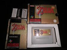 Super Nintendo, Snes - legend of zelda - 100% boxed w/ secrets book