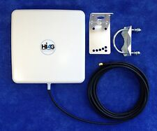 14dBi 2.4-2.7GHz Directional Antenna w/16ft LMR200 cable - Sprint TD-LTE Band-41