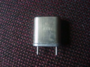 43.1000 MHz CRYSTAL FOR THE  DRAKE TR4C TRANSCEIVER  COVERS 28.600 - 29.2000 MHZ