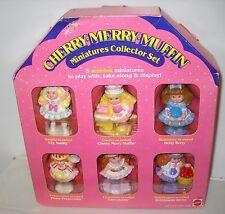 #2891 RARE NRFB Vintage Mattel Cherry Merry Muffin Miniatures Collector Set