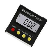 Digital Bevel Box Gauge Angle Finder Protractor Inclinometer Magnetic Level GIR