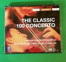4 CD Set - ABC Classics - Classic 100 Concerto - Vol 1 - Nos 1-46