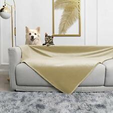 Waterproof Dog Blanket for Bed Fleece Pet Blanket Bed Cover for Dog Throw Blank