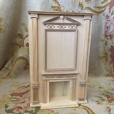 Bespaq Bluette Meloney Dollhouse Furniture Fireplace Wall Unfinished 9002
