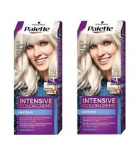 2x Schwarzkopf Palette Intensive Color Creme 9,5-1 (C9) Silver Blonde Permanent