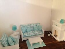 "18"" doll furniture, Complete Living Room"