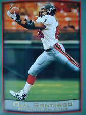 NFL 83 O.J. Santiago Atlanta Falcons Topps 1999