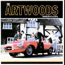 THE ARTWOODS - SINGLES A'S & B'S [REMASTER] * NEW CD