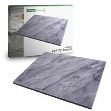 New Marble Pastry Board - 40 X 30CM Large Charcoal Unbranded