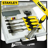 Stanley Chisel Set 5 Piece Dynagrip with Strike Cap & Accessories 5-16-421