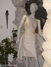 Disfraz Vestido de Novia Seda Carnaval Princesa 34 36